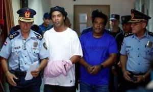 Ροναλντίνιο Φυλακή Παραγουάη Διαβατήριο