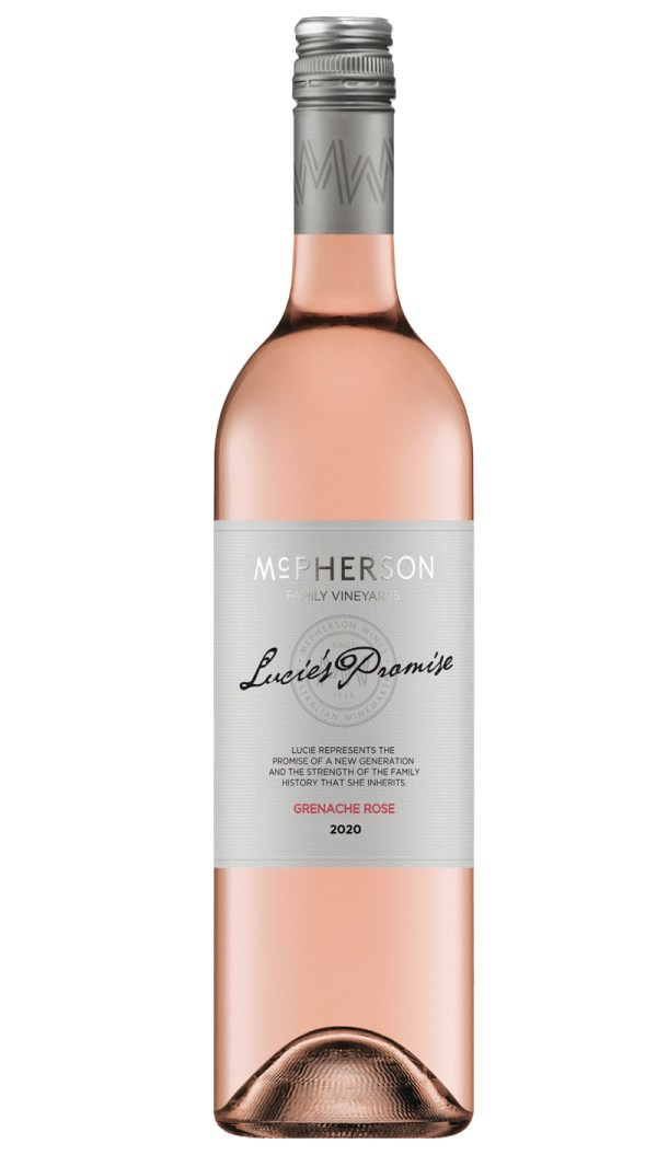 McPherson Winery Lucie's Promise Grenache Rosé, Australian wines available at FWS Wines