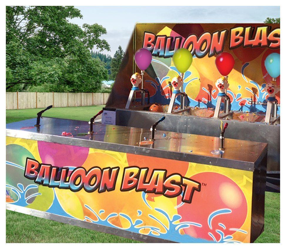 Water Balloon Blast Rental Fantasy World Entertainment