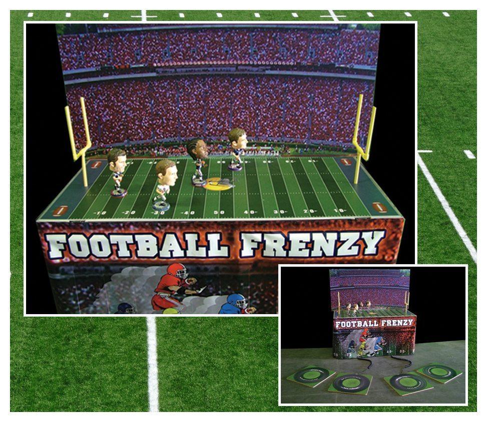 Football Frenzy Game Rental Fantasy World Entertainment