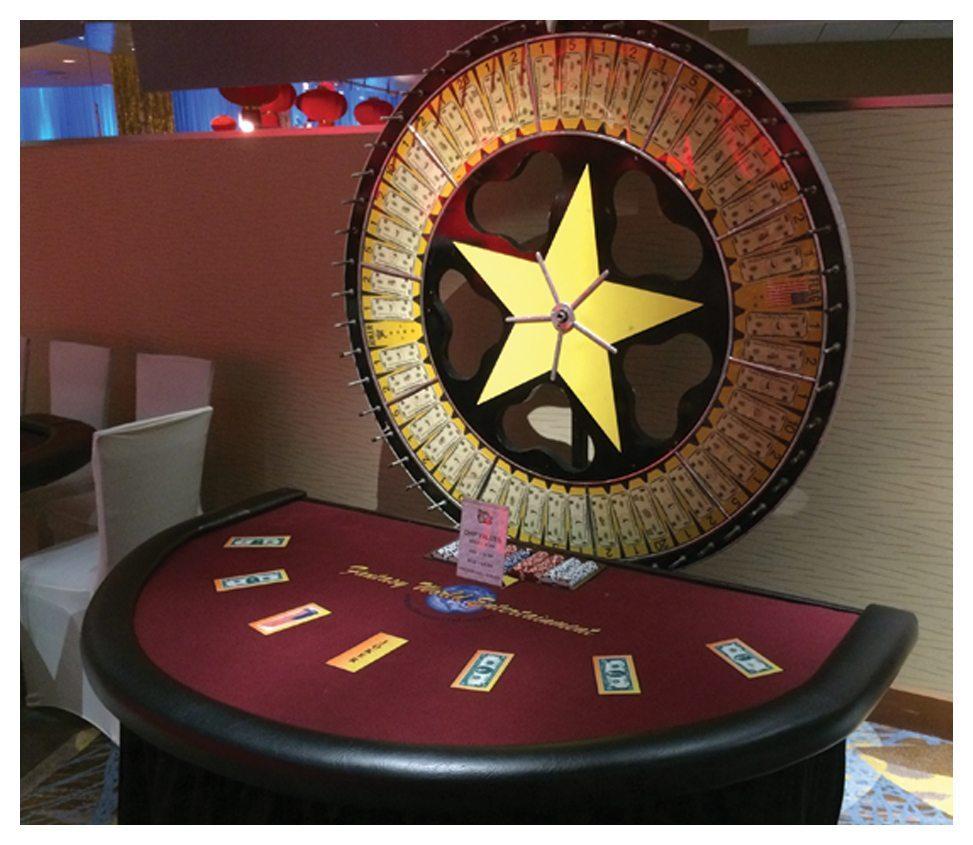 Money Wheel Rental  Fantasy World Entertainment  MD VA