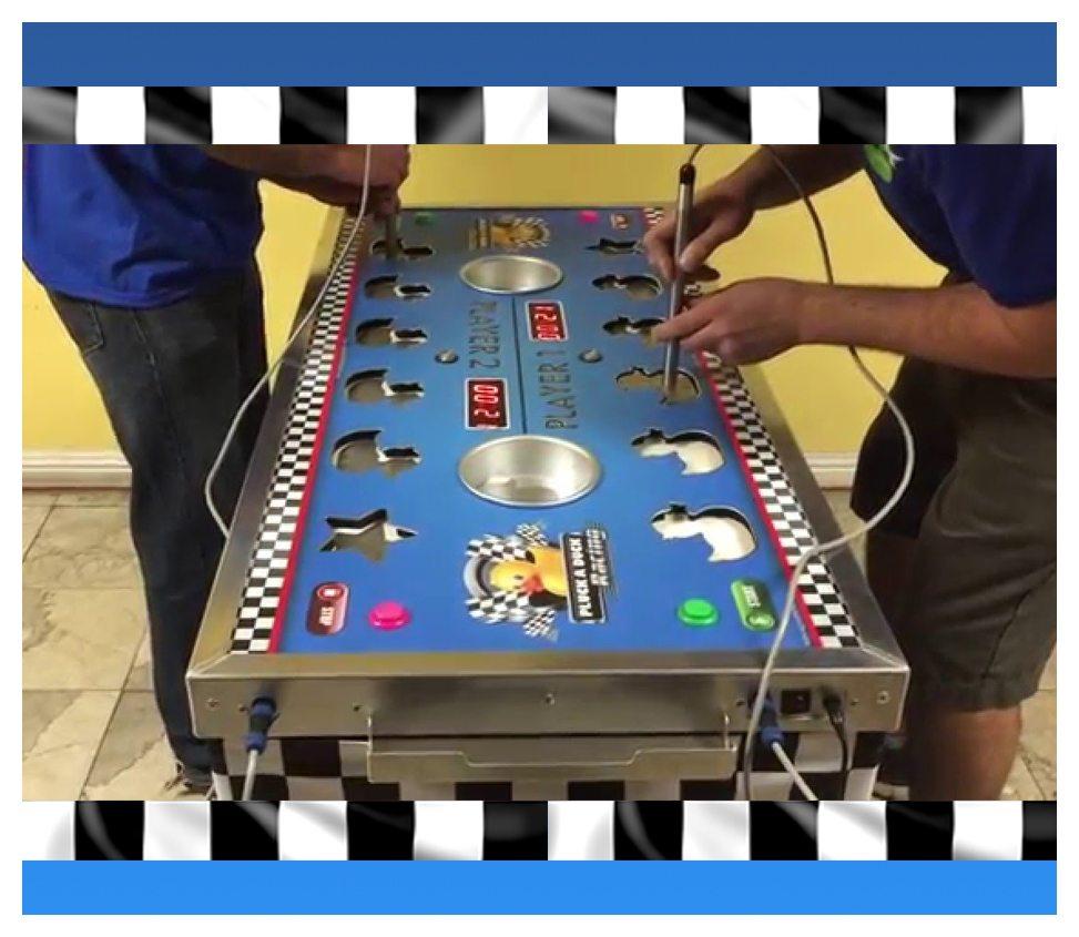 Pluck A Duck Arcade Game Rental Fantasy World