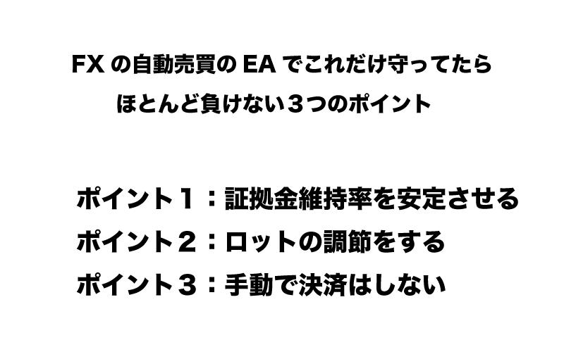 FX 自動売買 EA 負けない