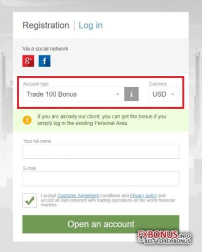 How to receive FBS $100 No Deposit Bonus on MT5? | FAQ | FBS