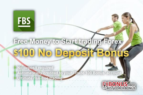 FBS 100 USD No Deposit Bonus | Promotion | FBS – FXBONUS