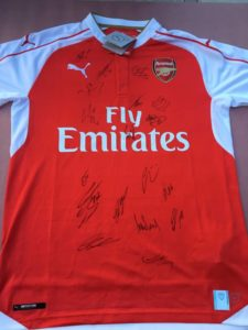 Arsenal FC Signed Jersey
