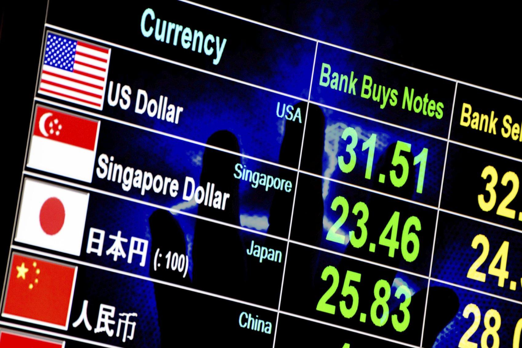 forex trading exchange rates