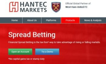 Hantec Markets launches Spread Betting on Metatrader 4 (MT4)