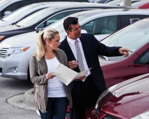 Personal Finance Tips - buying a new car