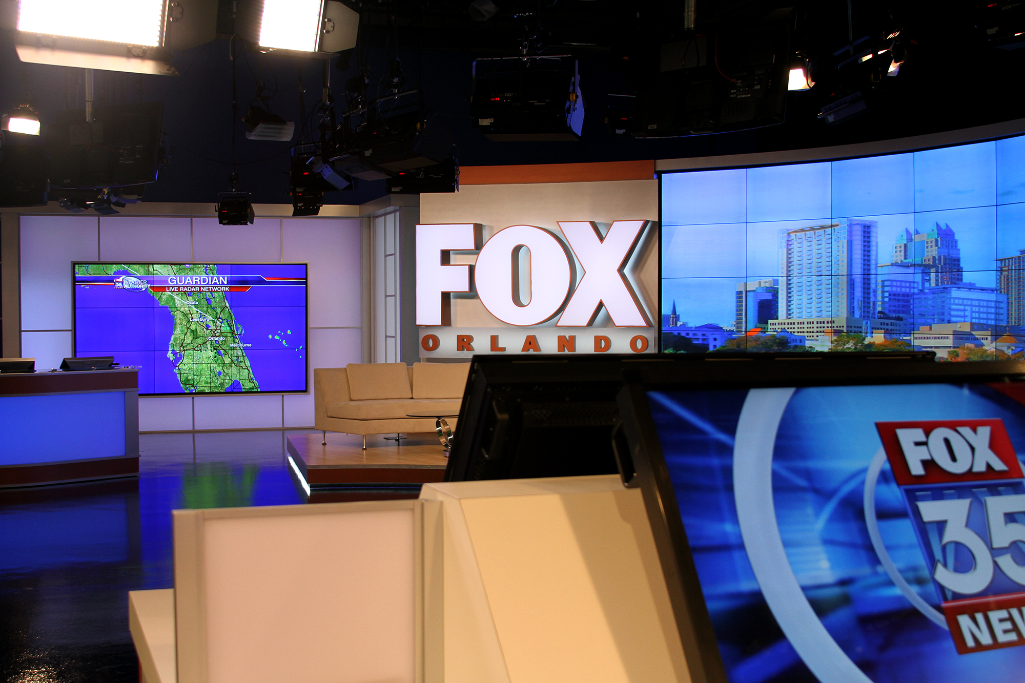 FX Design Group, the leaders in News Set Design for over 27