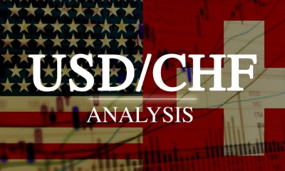 USDCHF Breaks Above Support Level