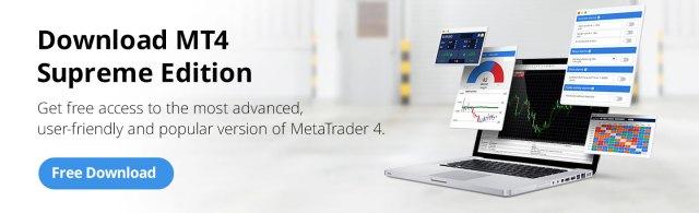 Download MT4 Supreme Edition - Forex trading platform