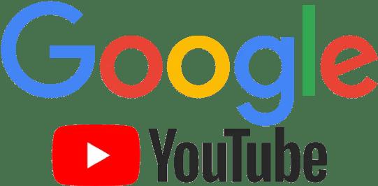 Google en Youtube logo