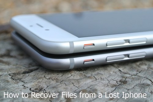 iPhone Data Recovery tips: How to Recover Files from a Lost iPhone