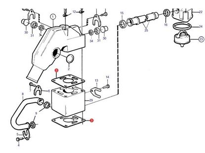Volvo Penta Exhaust Parts. FYB Marine