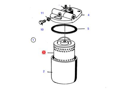Volvo Penta Diesel Fuel Filters. FYB Marine