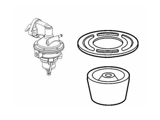 Volvo Penta petrol engine fuel pump filter, Part Number