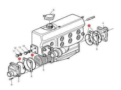 MD1 to MD22 Series Service Parts