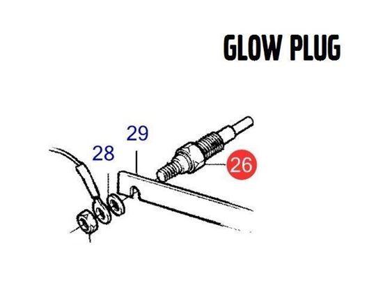 Volvo Penta Glow Plug, Part Number 3583025