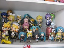 My first collection - Vocaloid. Things are kinda all over the place and cramped ;_;