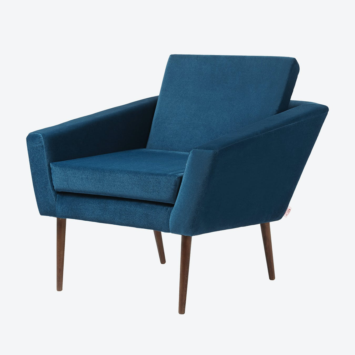 Royal Blue Chair Supernova Chair Velvet Line In Royal Blue