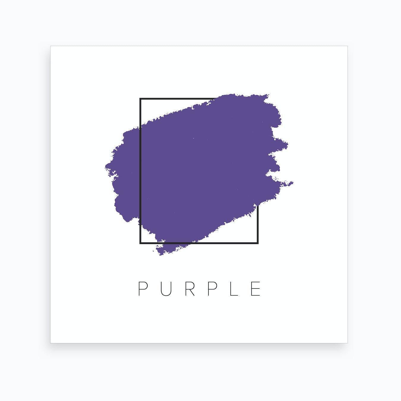 purple color box art