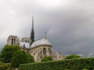 Rückseite Notre Dame