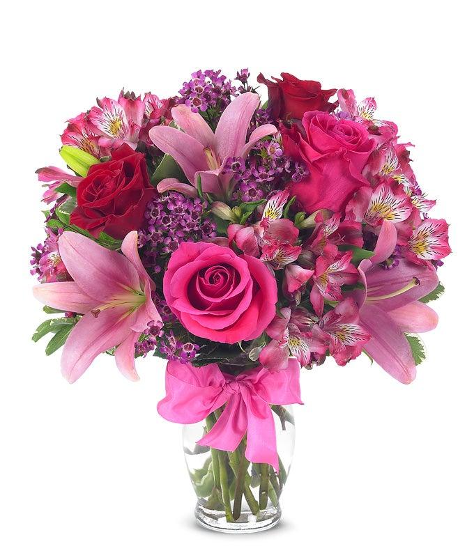 rose lily celebration