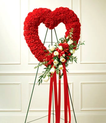 Red Roses Open Heart At From You Flowers