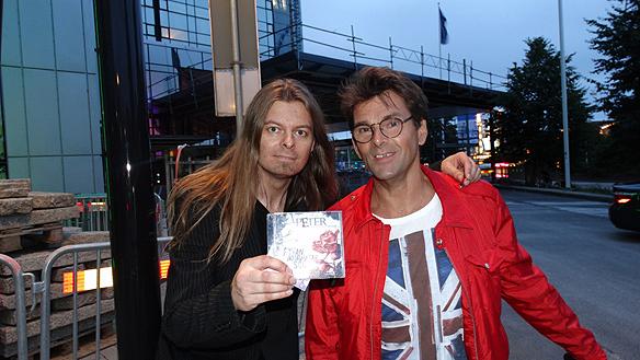 Peter Ahlborg och Niklas Strömstedt. Foto: Privat