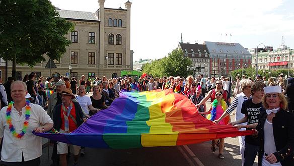 West Pride. Foto: Peter Ahlborg