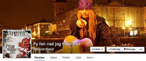 Nu finns Fy fan vad jag hatar soc på Facebook på https://www.facebook.com/fyfanvadjaghatarsoc