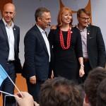 Alliansen valspurtar i Stockholm