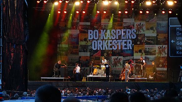 Bo Kaspers på Kulturkalaset vid Götaplatsen 2014. Foto Peter Ahlborg