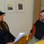 Peter träffar kommunalrådet Andreas Sturesson