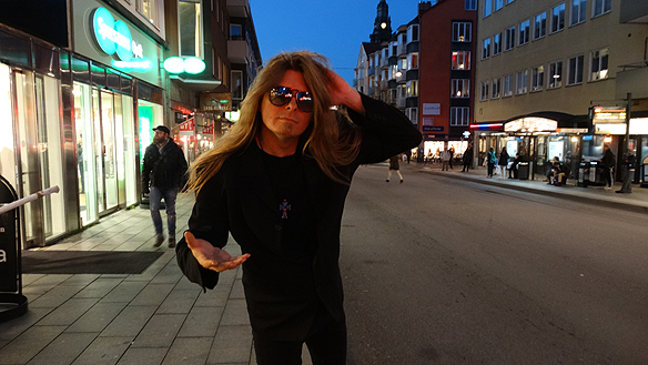 Peter Ahlborg. Foto: Hasse Sukis