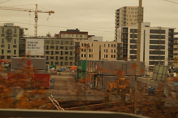 Rekordlite lägenheter byggdes under de första nio månaderna under 2014 i Göteborg. Foto: Peter Ahlborg