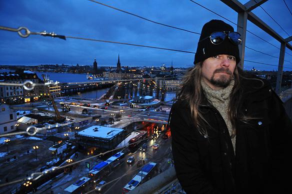 Peter Ahlborg besöker Katarinahissen i Stockholm i januari 2015. Jag inser att problemet med bostadsbristen i Stockholm är enormt, säger han.
