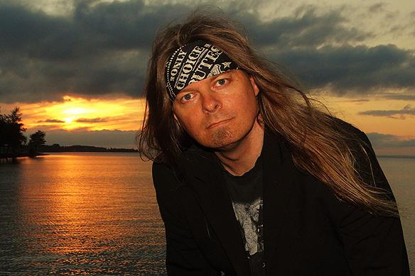 Peter Ahlborg i Vadstena. Foto: Hasse Sukis