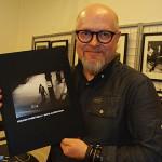 Berömda streetfotografen Mats Alfredsson hade boksläpp på Andarve image gallery