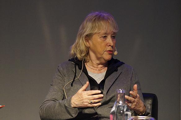 """Britt-Marie Mattsson var med i debatten: """"Men herre gud"""" under Mediadagarna. Foto: Peter Ahlborg"""
