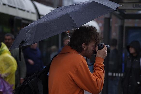 Charlie Källberg min gode vän hittade en biljett till Bruce Springsteen denna händelserika dag. Foto: Peter Ahlborg