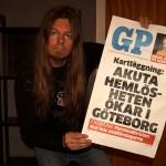 Peter Ahlborg med i GP om sitt liv som fd hemlös