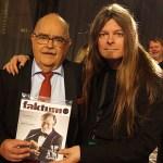Peter Ahlborg bevakade Bingolottos 25-års jubileum