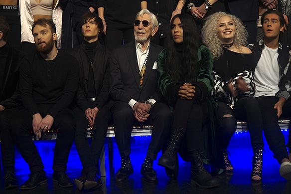 Några av artisterna som medverkar i Melodifestivalen 2017 bland annat Owe Thörnqvist, Loreen, Wiktoria och Benjamin Ingrosso. Foto: Peter Ahlborg