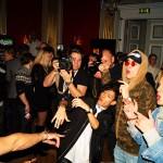Energisk dans när artisterna firade Melodifestivalen i Växjö