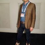 Jonas Nilsson killen med de coolaste dojorna på Socialdemokraternas partikongress