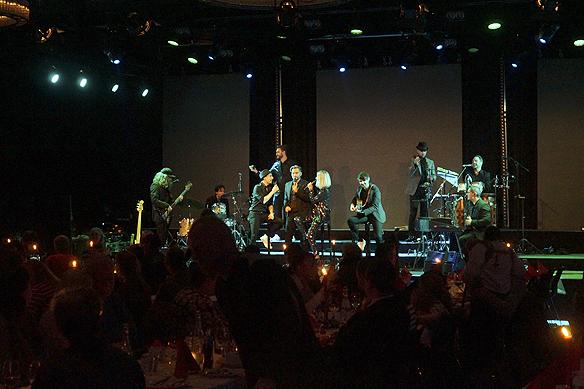 Bandet Legends of pop framförde en hel uppsjö av låtar av Michael Jackson. - Det var världsklass på framförandet, säger Peter Ahlborg. Foto: Peter Ahlborg