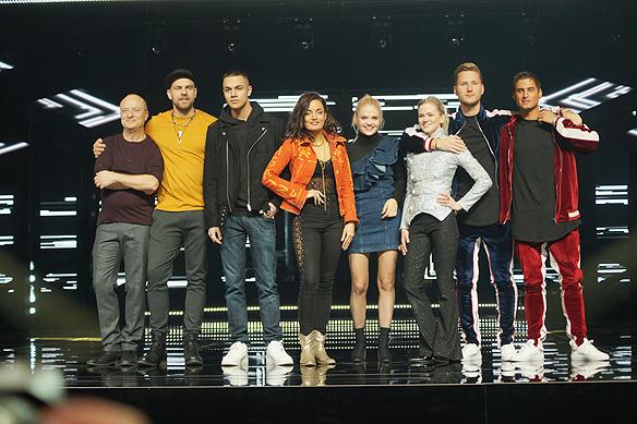 Här är artisterna som tävlar i Melodifestivalen 2017 i Göteborg. Foto: Peter Ahlborg