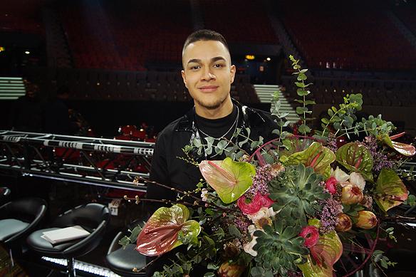 LIAMOO bevisar att det går att lyckas med en rap låt i Melodifestivalen. Han gick direkt till final i Melodifestivalen 2018. Foto: Peter Ahlborg